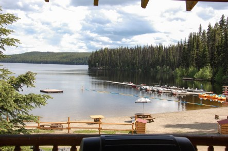 View from Cabin 12