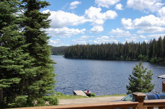 View from Cabin 3