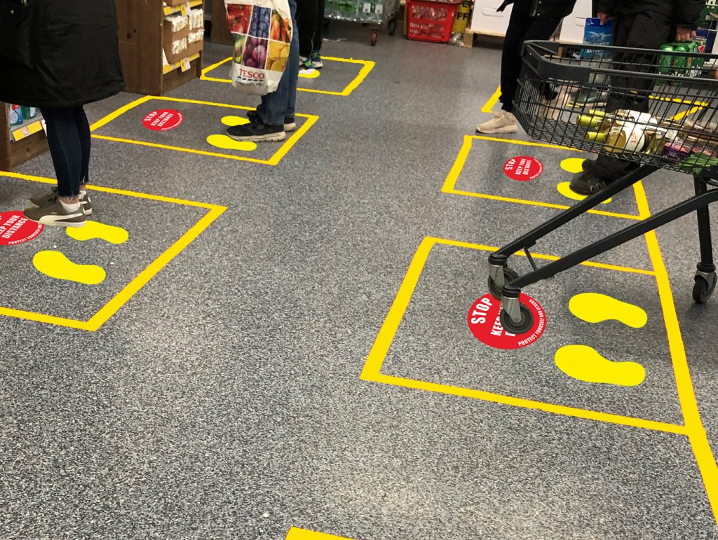 COVID-19 Floor Marking Kits can improve your office safety