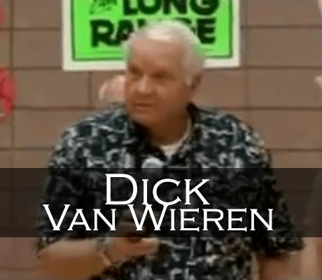 Dick Van Wieren Induction Speech
