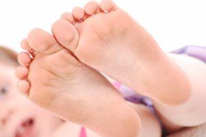Les pieds de Bébé