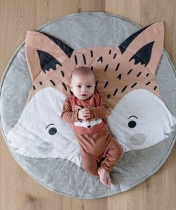 tapis d eveil molletonne animaux chambre bebe