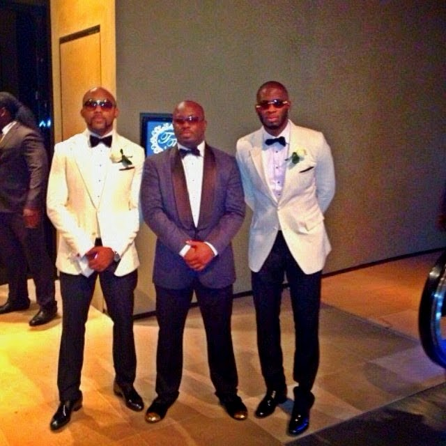 Pictures From Tiwa Savage And Tee Blliz S Star Studded