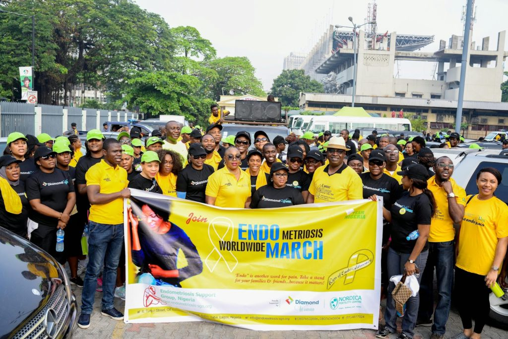 Pictures From Endomarch 2015 Bebe Akinboade