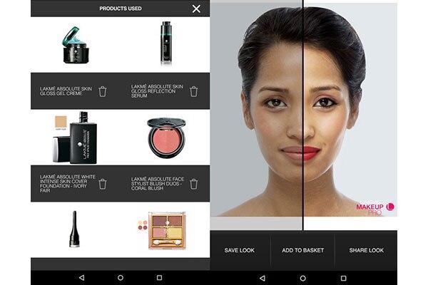 Lakmé Makeup Pro App
