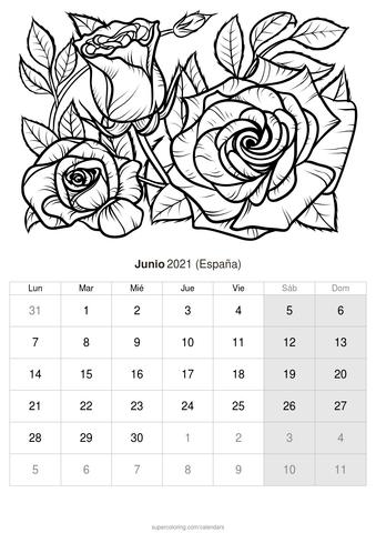 Tenemos muchos mas diseños de lol para colorear y imprimir esperando que los revises. Calendario para imprimir y colorear - Junio 2021