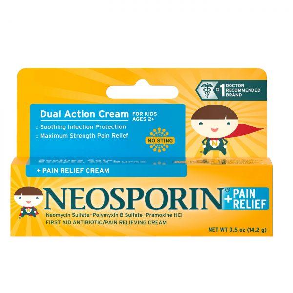 Neosporin Antibiotic and Pain Relieving Cream for Children ...