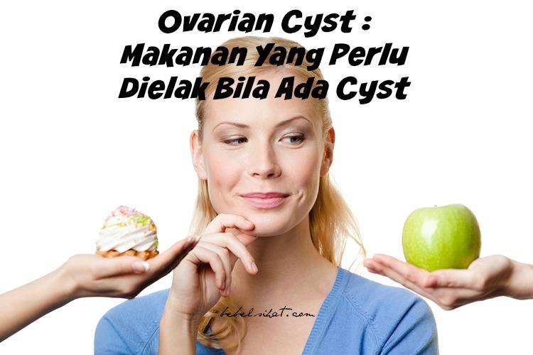 Ovarian Cyst : Makanan Yang Perlu Dielak Bila Ada Cyst