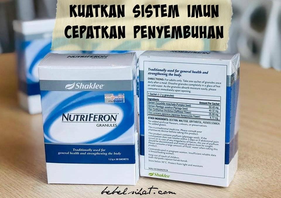 Nutriferon Penggalak Sistem Imun paling Berkesan