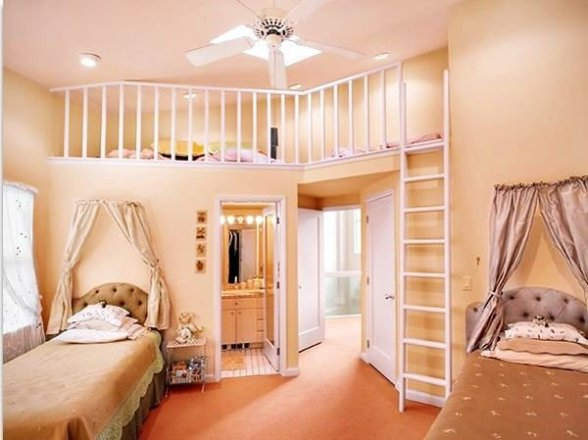 quartos de meninas mais lindos do mundo