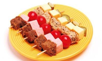 Comidinhas saudáveis para festa infantil