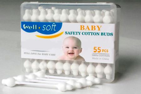 farmacinha para bebê - cotonete