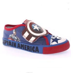 Tênis infantil barato menino - capitão america