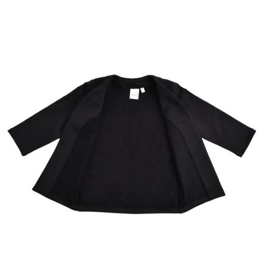Lange vest zwart