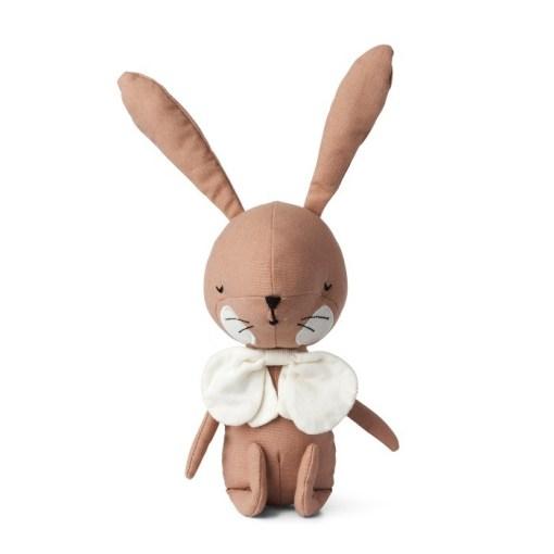 Roze konijn knuffel