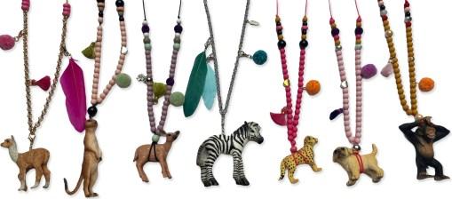 Handgemaakte Hippe dieren kettingen