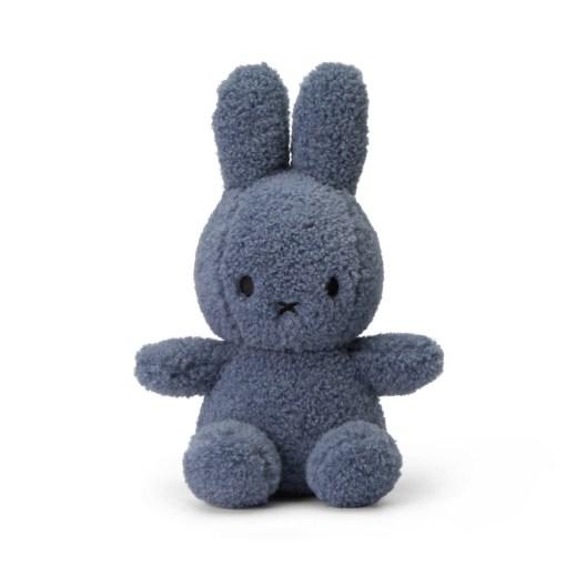 Miffy Sitting Teddy Blue