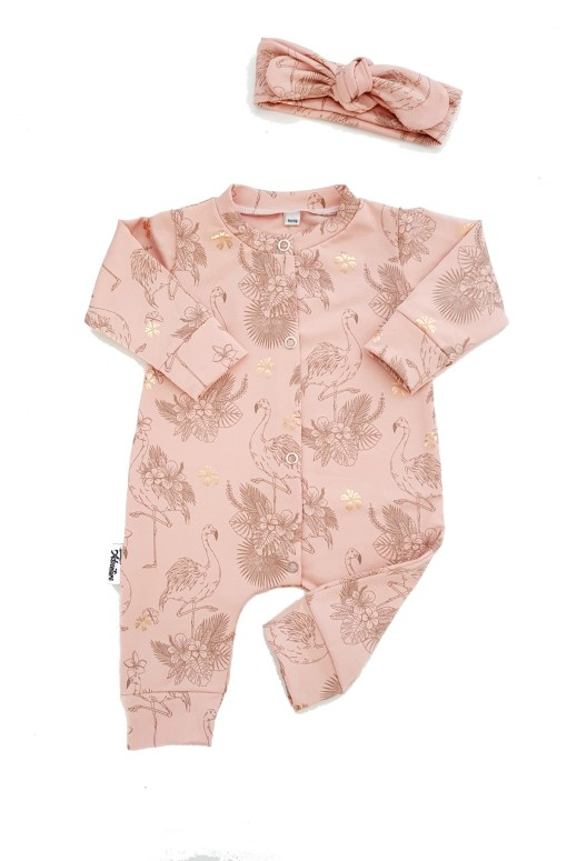 Boxpakje flamingo prints