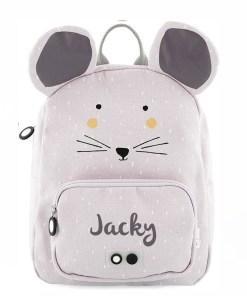 Rugzak muis met naam