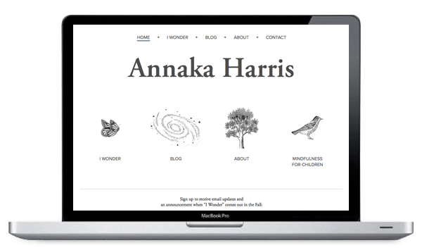 Annaka Harris Launches New Responsive Website