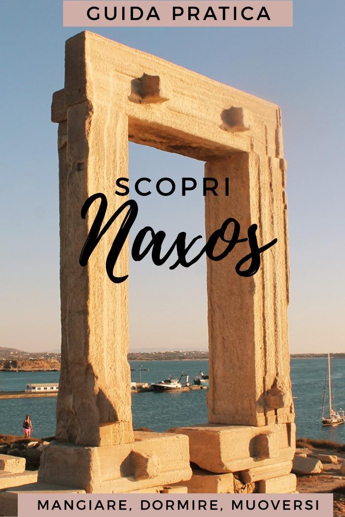 Naxos Guida Pratica all'isola