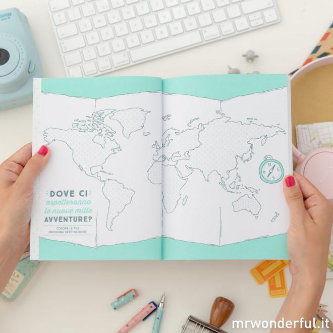 il regalo perfetto per chi ama viaggiare-diario di viaggio