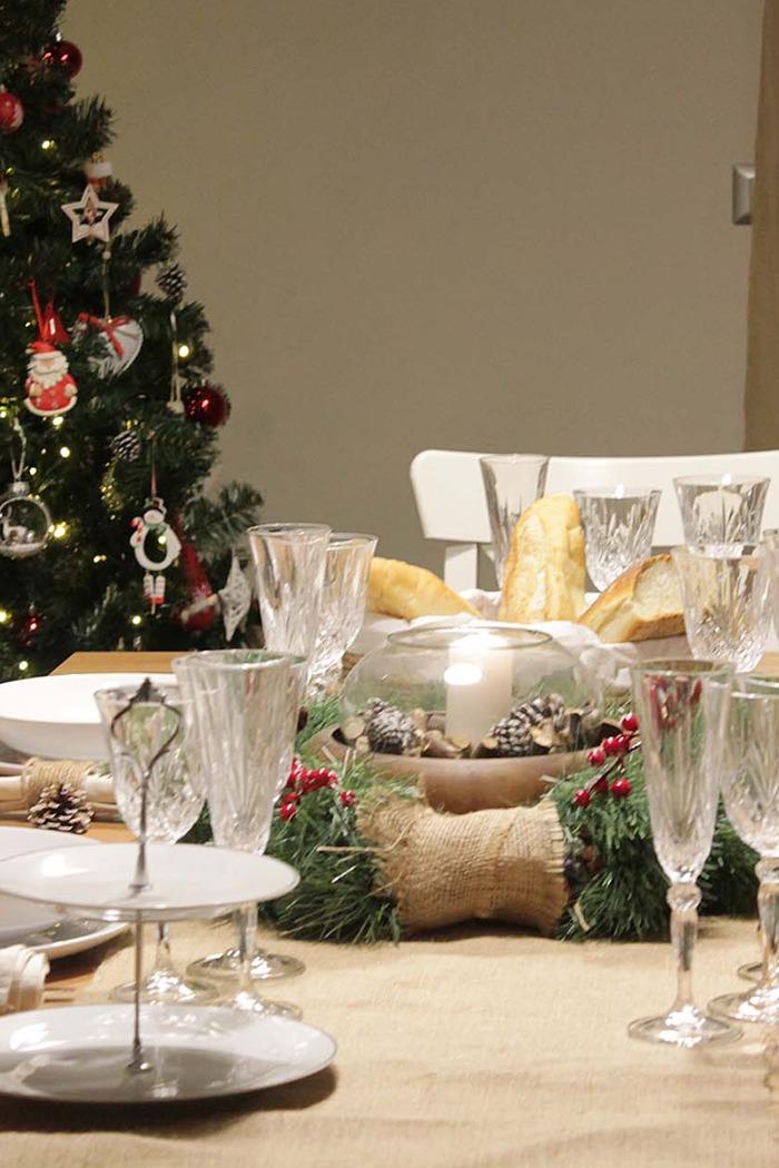 Tavola natalizia- due idee per un Natale Boho-chic