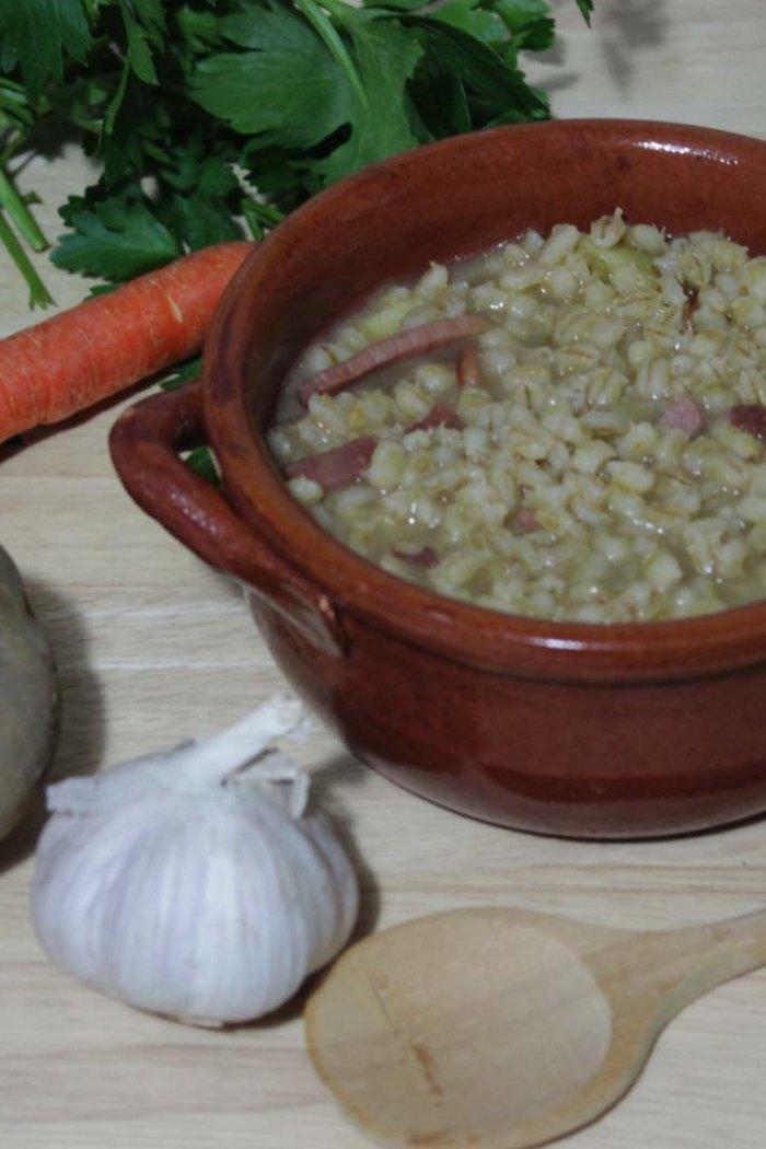 Zuppa d'orzo- Ricetta tipica del Trentino Alto Adige