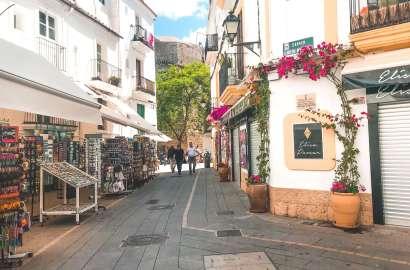 centro di Ibiza-stradine