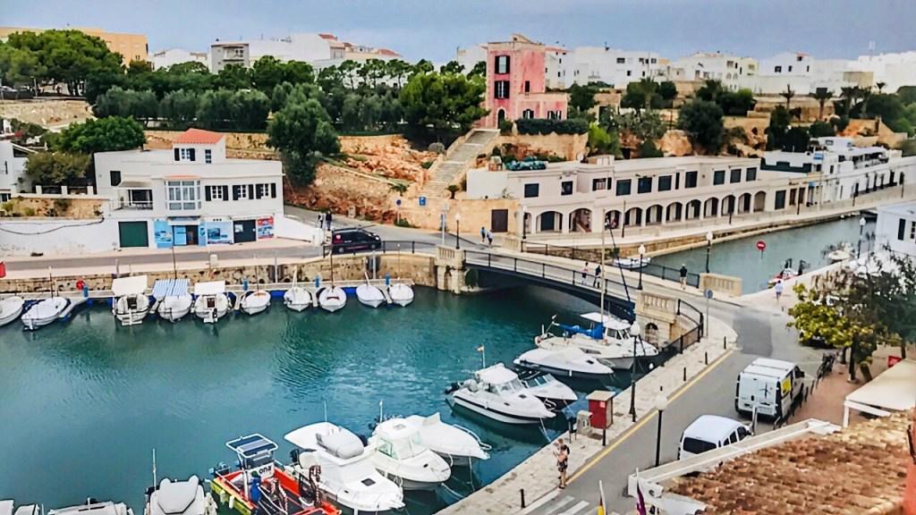 le città da vedere a Minorca-Ciutadella porto ciutadella
