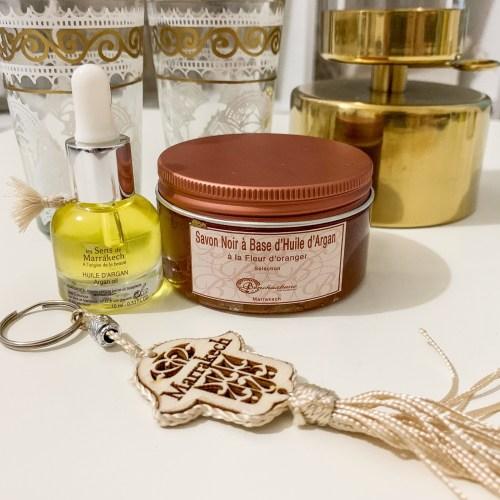 treatments-hammam-shopping-in-marrakech-beauty products-argan-soap-black