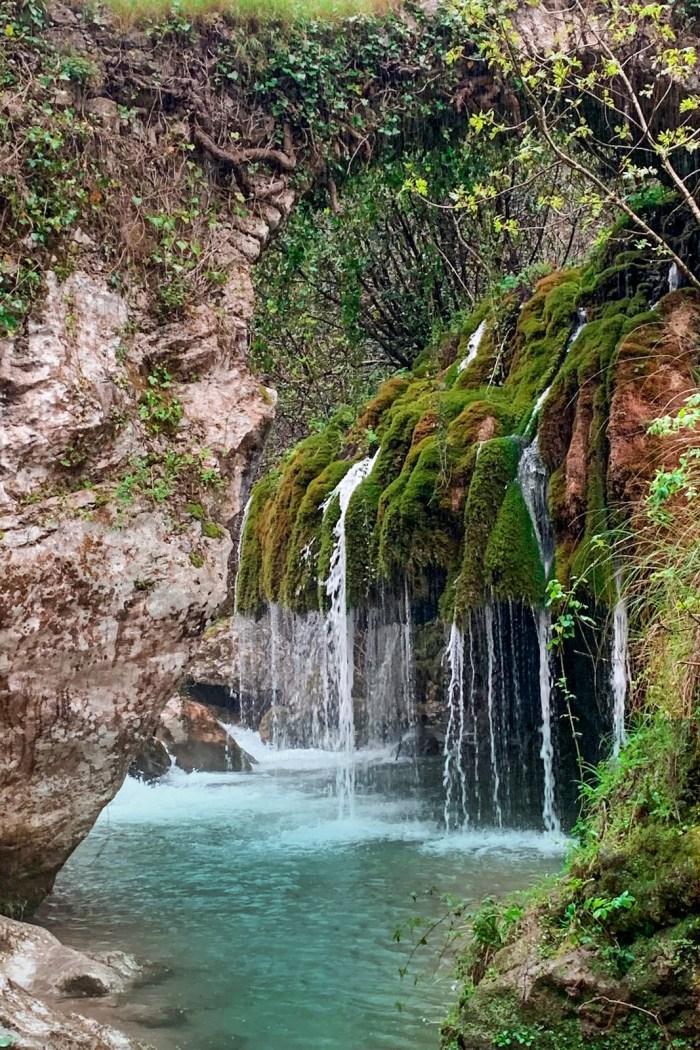 Capelli di Venere: le cascate del Cilento