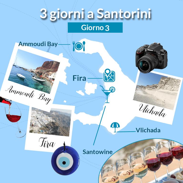 re giorni a Santorini-giorno 3