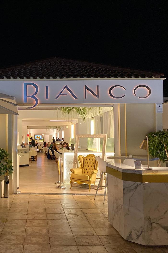 ristorante bianco tenerife - ristorante italiano