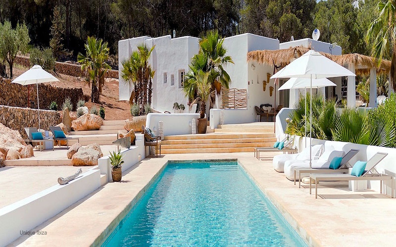bohemian hotel Pure house ibiza
