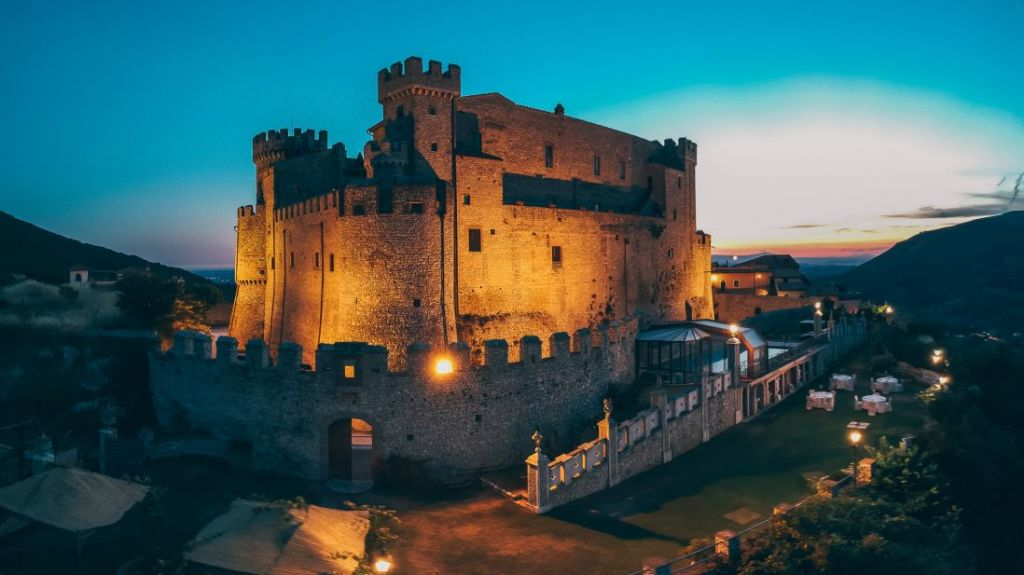 dormire in un castello a Roma