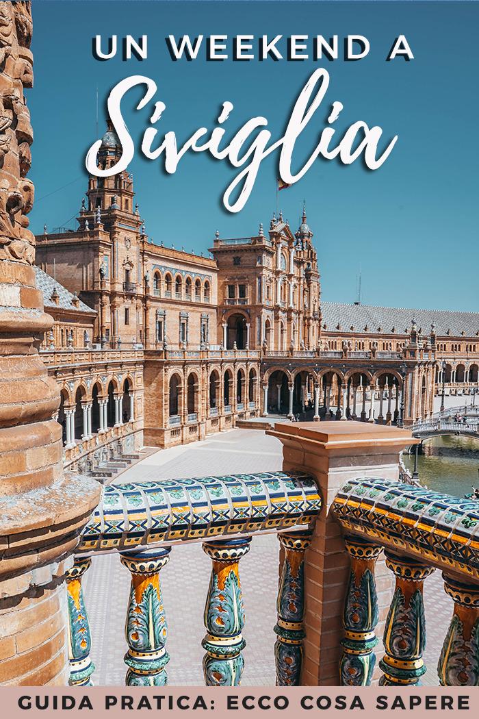 Siviglia: itinerario per un weekend