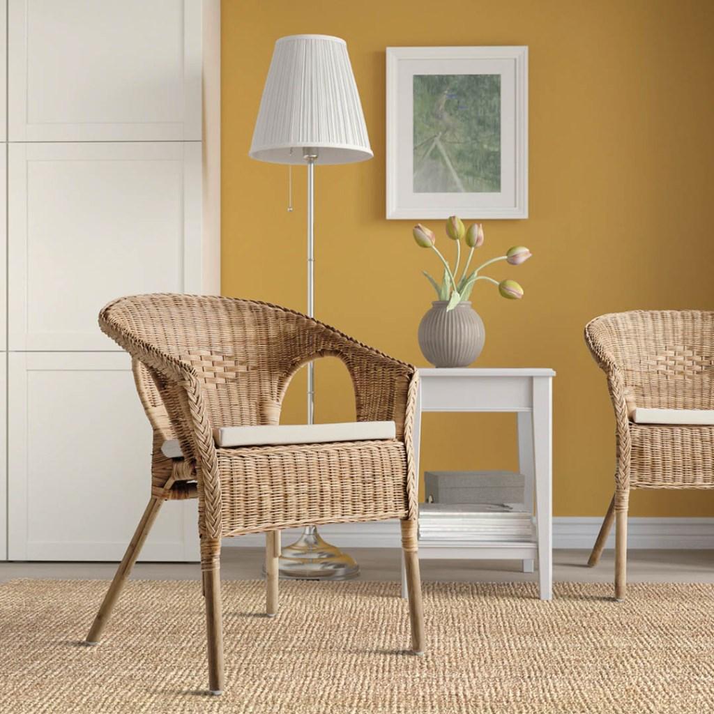 sedie in stile bohemien