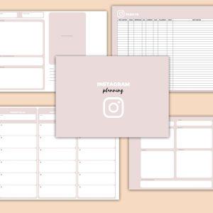 planning per organizzare i contenuti di instagram