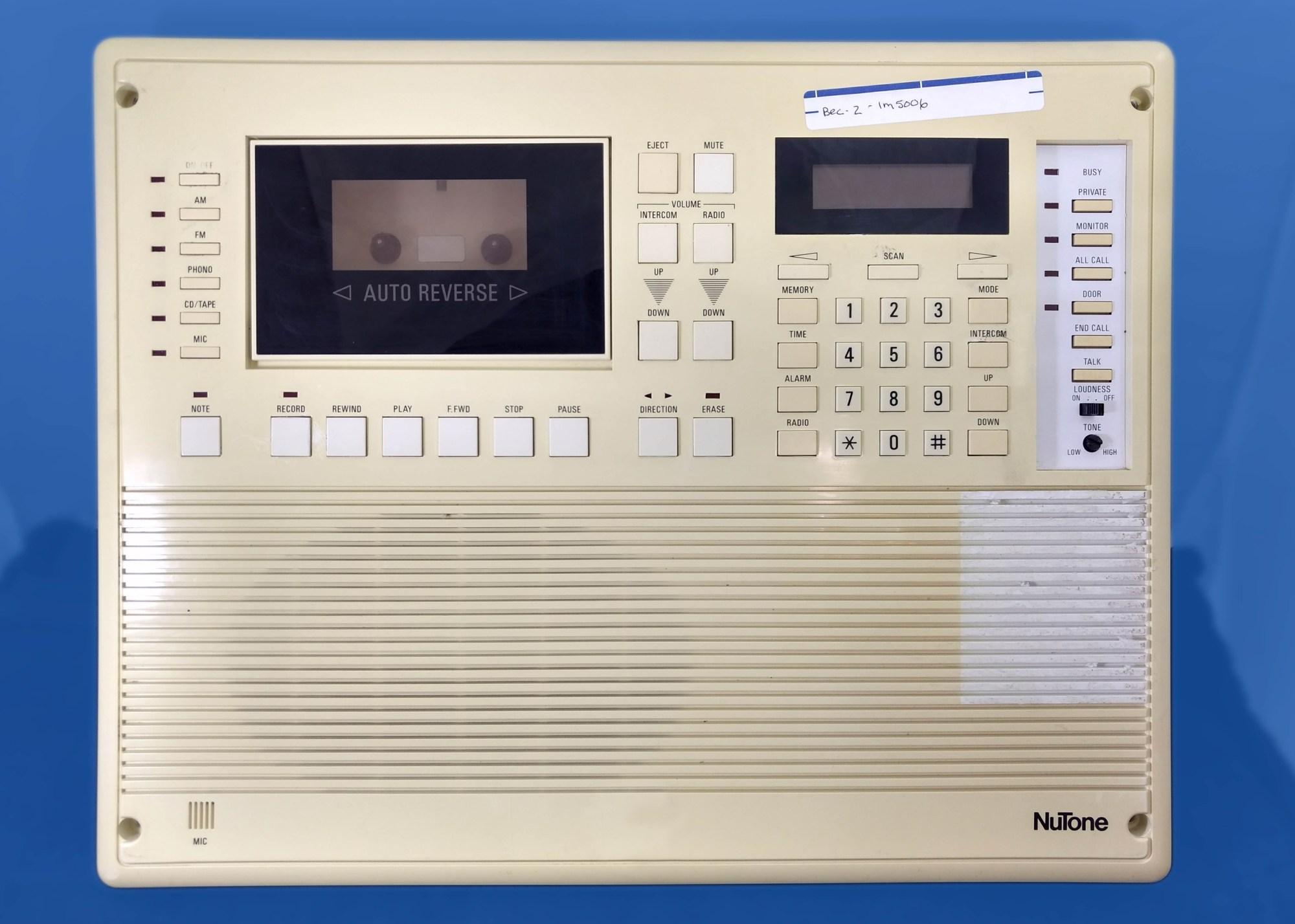 hight resolution of nutone im 5006 intercom parts