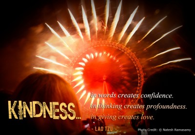 kindness in words @ www.because.zone