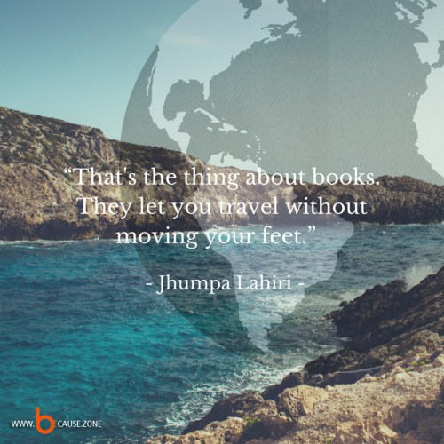 books let you travel @ www.because.zone