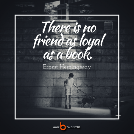 there is no friend as loyal @ www.because.zone