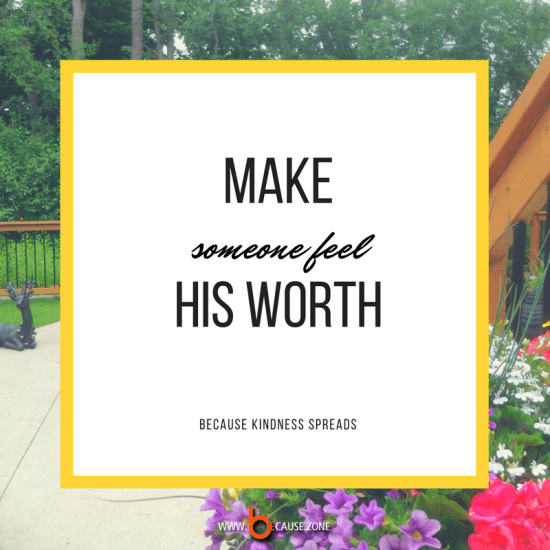 make-someone-feel-his-worth