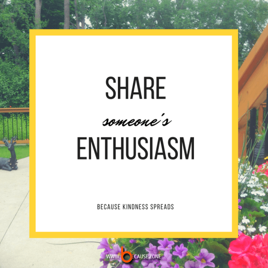 share-someones-enthusiasm