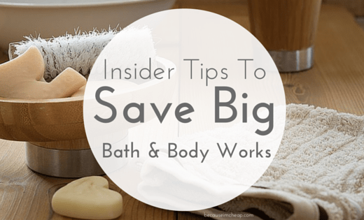 How to save big at Bath and Body Works