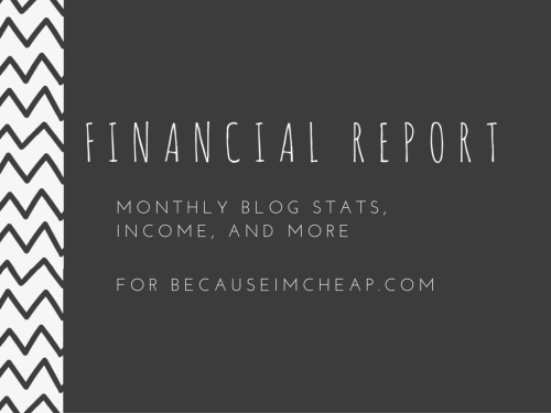 Blog Financial Report