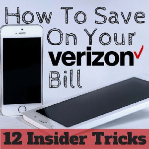 How to save on Verizon Wireless Bill - 12 insider tips and tricks!
