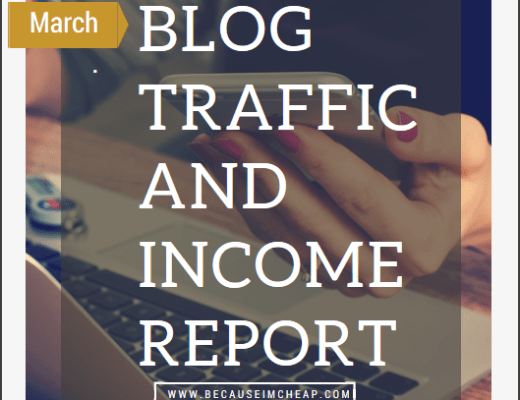 Blog Traffic And Income Report - March 2016