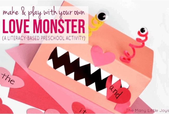 love monster activity